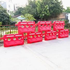 1500*800三孔水马全新料注水围栏市政道路交通施工塑料隔离路障