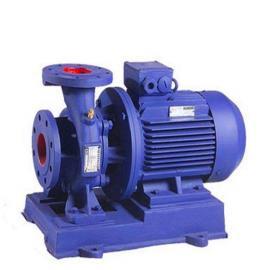 ISW卧式离心泵0.75KW ISW25-125 ISW管道离心增压泵