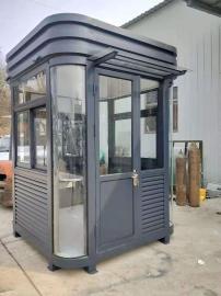 停车场岗亭厂家-不锈钢岗亭值班室-园林收费岗亭制品厂