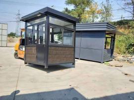 公园值班岗亭-钢结构岗亭加工定制-景区停车场收费岗亭