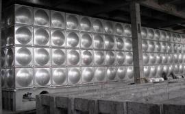 屋顶304不锈钢水箱可保温