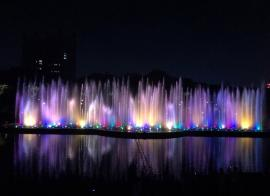 品尚音乐表演喷泉