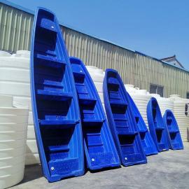 6米大型塑料渔船养殖船河道清理十博体育船滚塑双层牛筋材质