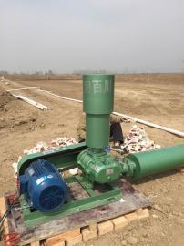 7.5KW100WA三叶罗茨风机污水处理曝气机