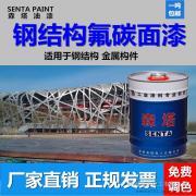 森塔氟碳漆 金属钢结构大桥白色黑色氟碳漆 满吨包邮