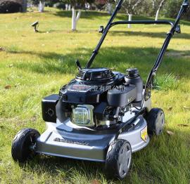 奥玛克AMK460草坪机手推式汽油割草机18英寸修剪机除草机剪草机