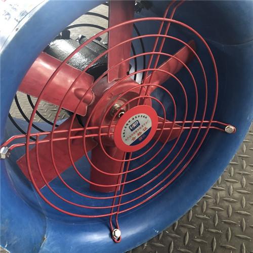 玻璃钢轴流风机风叶直径710MM风量26120m3/h功率4KW FT35-11