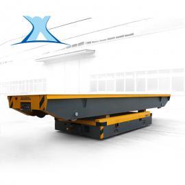 BXC蓄电池轨道平板车 20T无线遥控工程机械车间转弯平车