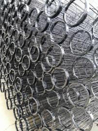 Φ130×2450mm电厂除尘袋笼Q20#有机硅处理