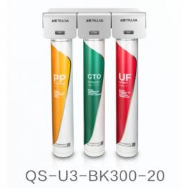 沁园商用净水器QS-U3-BK300-20商用管道式净水器