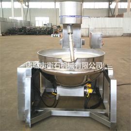 衡石机械电加热夹层锅大型夹层锅蒸汽夹层锅用途