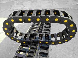 全自动码坯机配件拖链|电缆桥式尼龙塑料拖链|黄扣加强型拖链