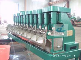 银锐FX3升12槽机械搅拌式连续浮选机多槽浮选机实验室浮选机