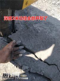 土石方工程破裂石�^劈裂�C