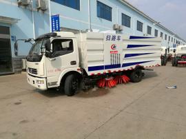 天然气东风12吨干扫车