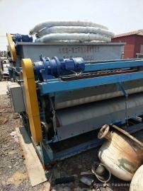 2米污泥带式过滤机 橡胶真空带式过滤机