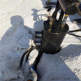 大型石厂开采岩石液压劈裂棒静态合法采石