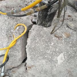 矿山开挖液压岩石分裂机产量高吗