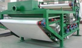 砂石厂泥水分离设备带式压滤机