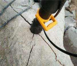 地基开挖岩石劈裂机