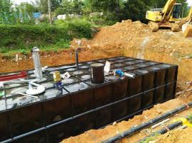 箱泵一体化、抗浮地埋式消防箱泵水箱