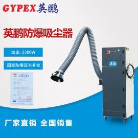打磨作业防爆除尘器EXP1-55YP-22VB,塑胶化工防爆除尘器
