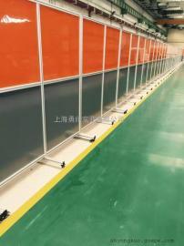 塑料防护屏