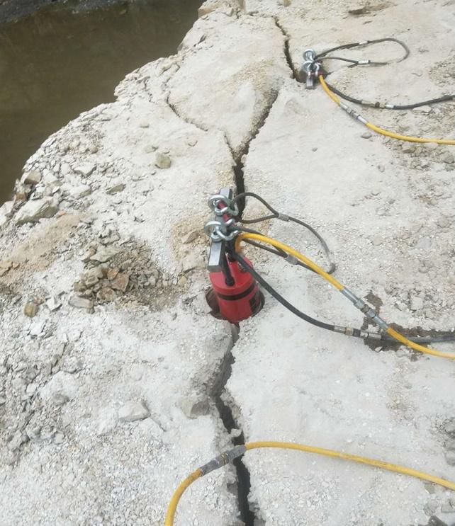 静态开采坚硬石头破碎机