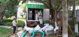 粪便固液分离机环保化粪池清掏车