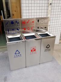 户外分类环保垃圾桶-市政分类垃圾桶-小区环卫果壳箱
