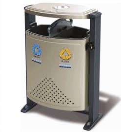 不锈钢果皮箱加工企业-小区分类果皮箱-垃圾桶