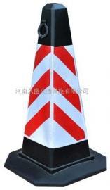 塑料方锥 PE树脂共混 橡胶路锥 反光橡胶路锥 防撞路锥
