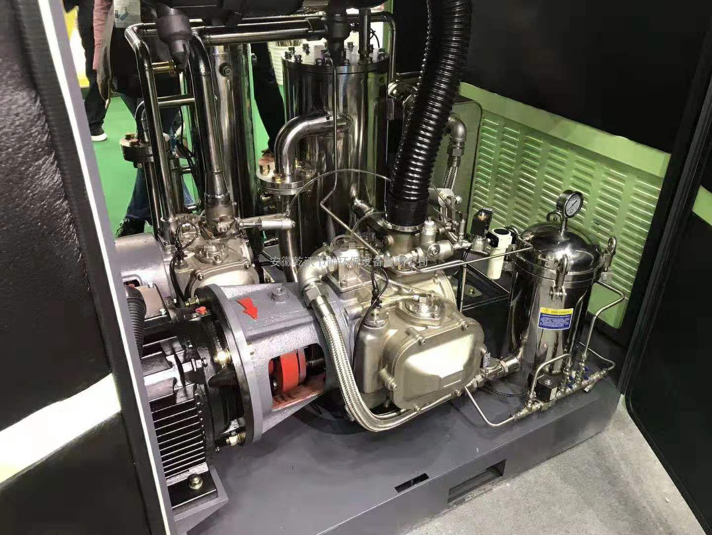 无油螺杆空压机