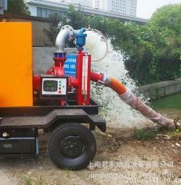 柴油移动泵车/防汛移动泵车/高压工业冷却柴油机水泵/单级离心泵