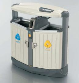 小区分类垃圾桶-景区创意果皮箱-户外精品垃圾桶制品厂