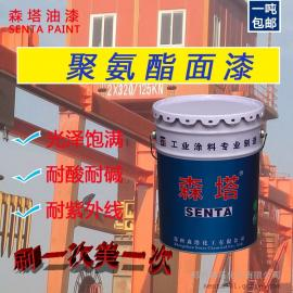 聚氨酯面漆工业金属漆钢结构防腐防锈漆