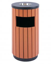 小区物业分类果皮箱-校园分类垃圾桶-景区环卫果壳箱