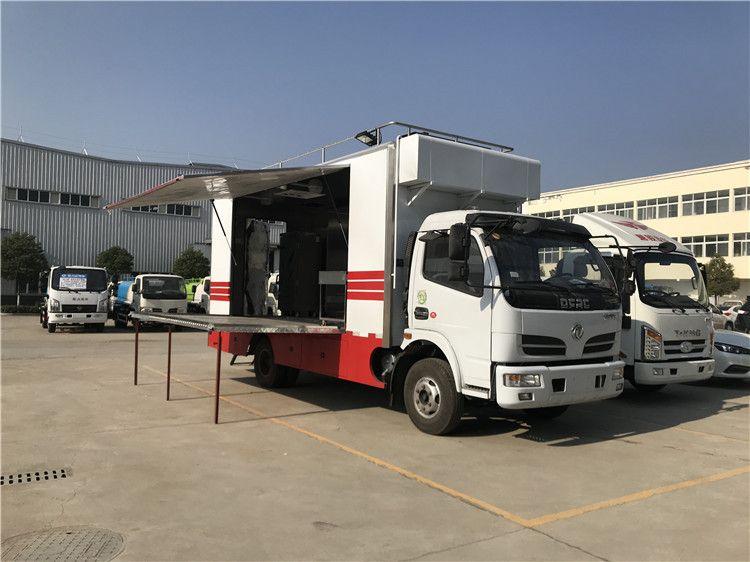 *的大型厨房餐车 汽车流动餐车干净卫生