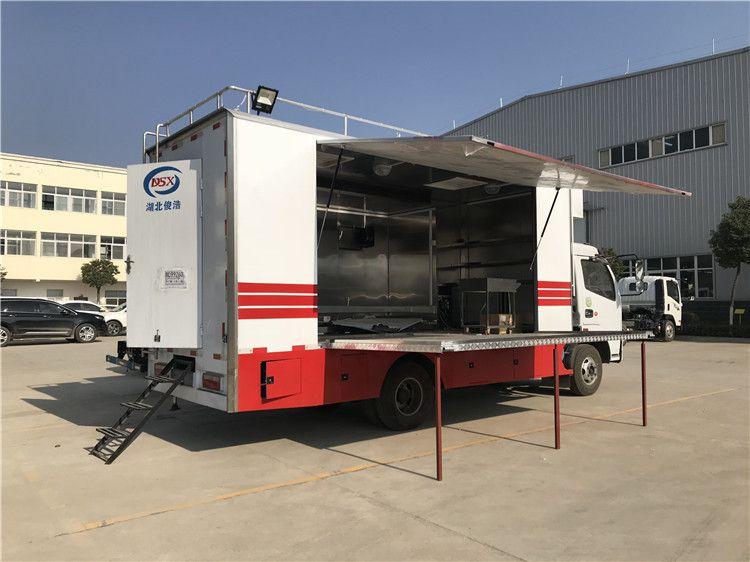 可靠的红白喜事宴席车 婚庆流动大型餐车规格型号