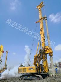 无限达280旋挖钻机租赁优惠,分析3种使液压油温变高的原因