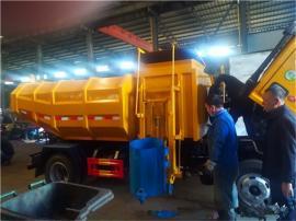 城市街道环卫车-装卸5吨6吨垃圾车型号配置出厂购买价钱