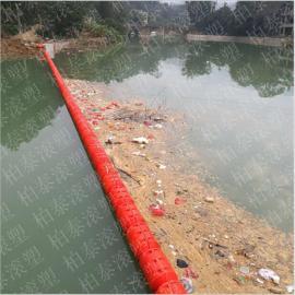 河道下游水面垃圾清理阻隔设备厂家直供拦污浮筒