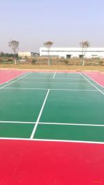溧阳小区丙烯酸篮球场施工塑胶地坪施工环氧地坪漆施工 质量保障