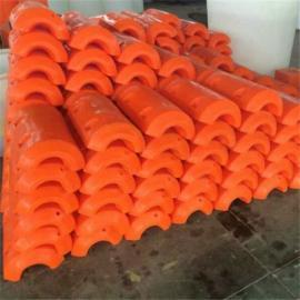 环海生产挖沙船管道浮筒 内孔120mm塑料浮筒