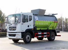 东风潲水餐厨垃圾车报价4立方餐厨垃圾车详细参数