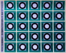 可逆型测温贴片变色测温贴测温纸NCW-7580