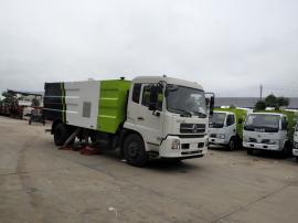 东风天锦10吨吸尘车/机场跑道专用吸尘车