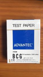 日本东洋ADVANTEC PH试纸 BCG