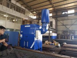 金属板材切割烟尘吸尘设备 脉冲滤筒除尘器 集中式工业集尘机