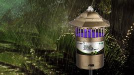 户外草坪灭蚊器|高科达室外灭蚊灯|花园捕蚊器W-B03